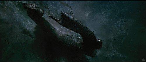 坠落的巨大外星飞船,也正是1979年版《异形》故事的开端
