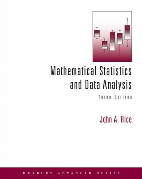mathematical statistics and data analysis 中文 版