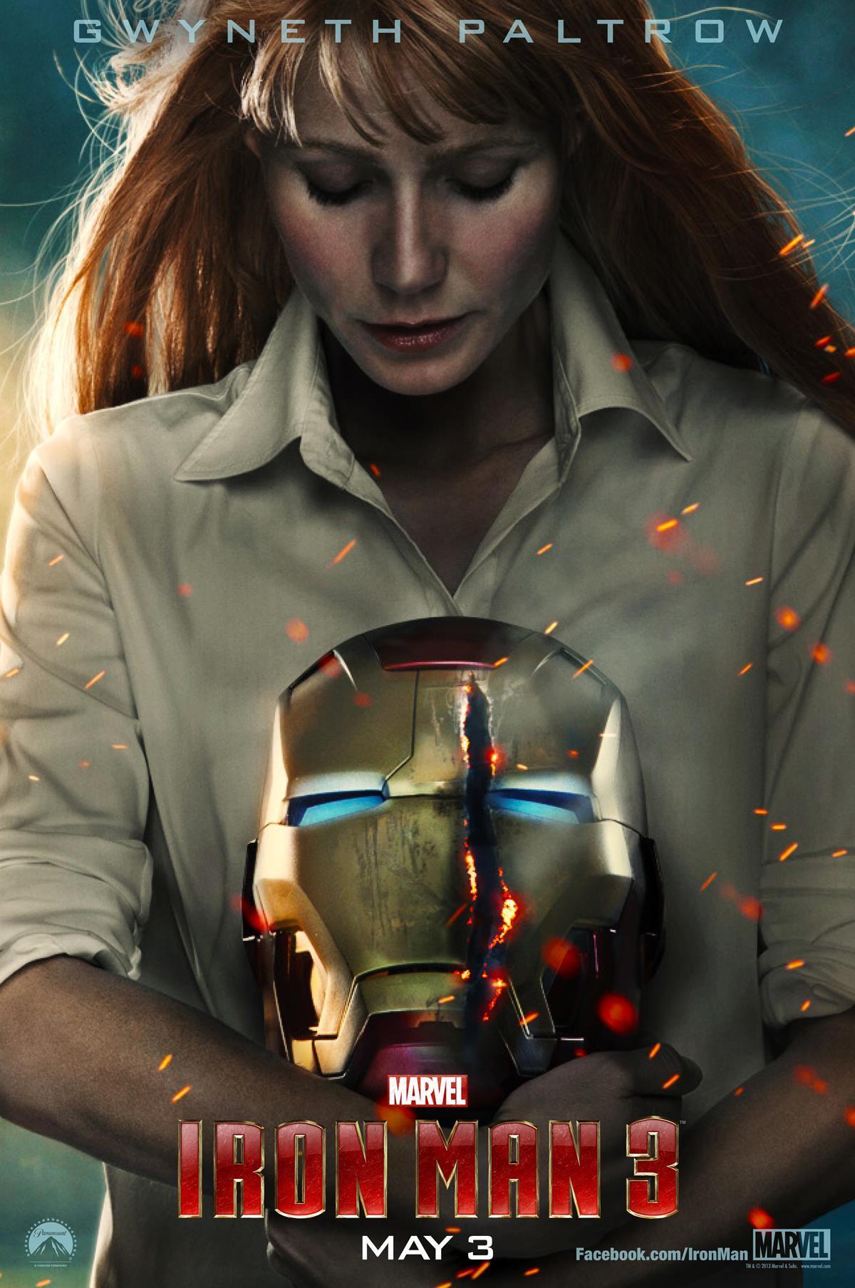 《钢铁侠3》新海报; 钢铁侠3;;; 钢铁侠