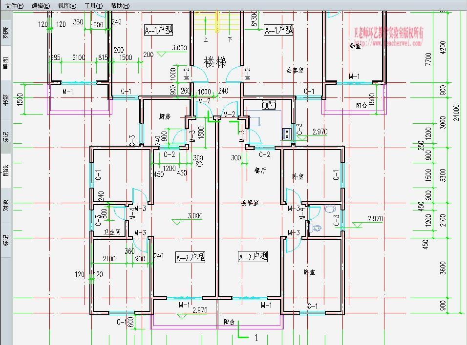 天正捕捉CAD2014标记线段时不到新建端点是cad2017建筑层图怎样图片