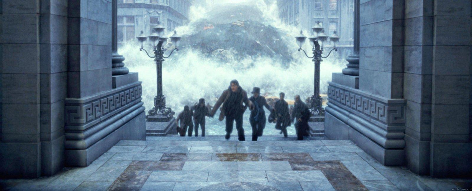 求好莱坞灾难片,像后天那样的 是环境或者天气的灾难