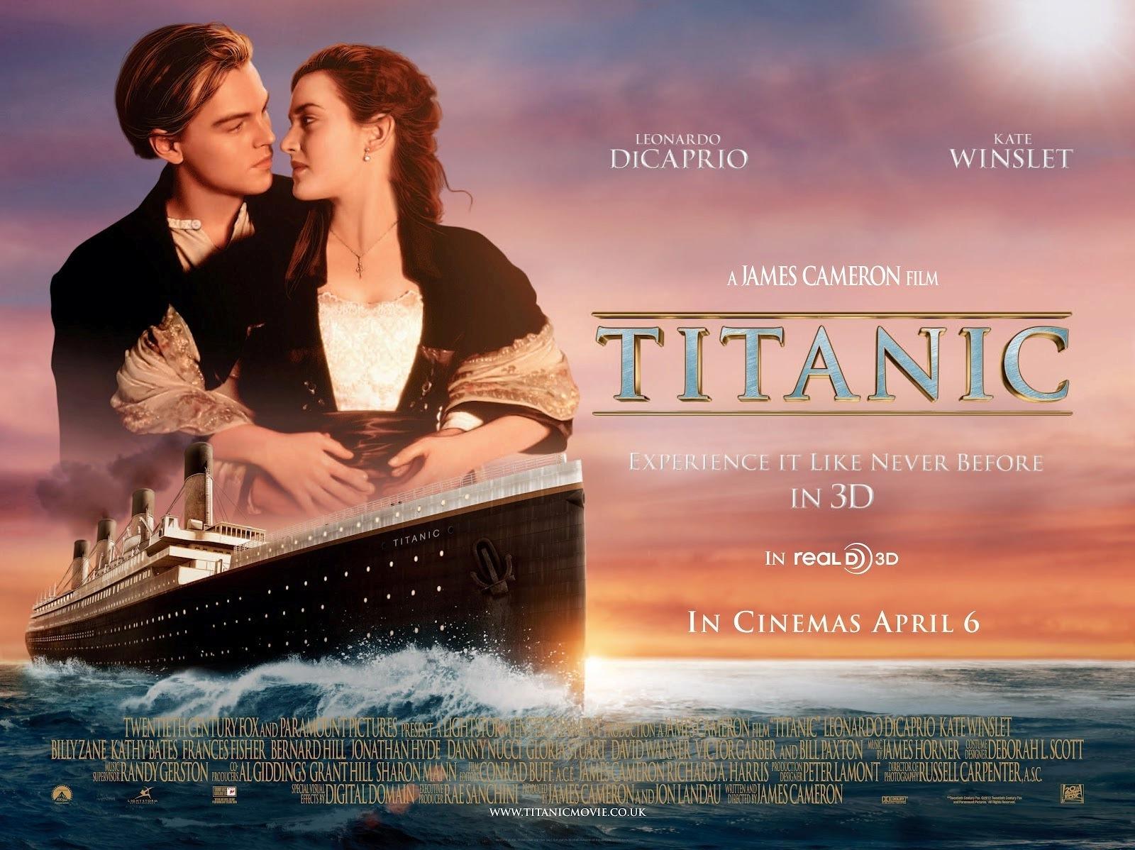 泰坦尼克号 3d版