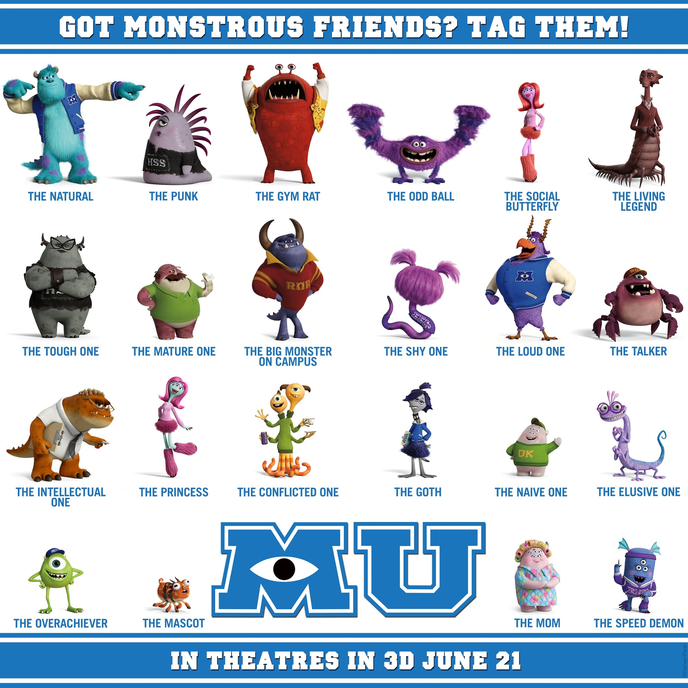 怪兽大学(monsters university)