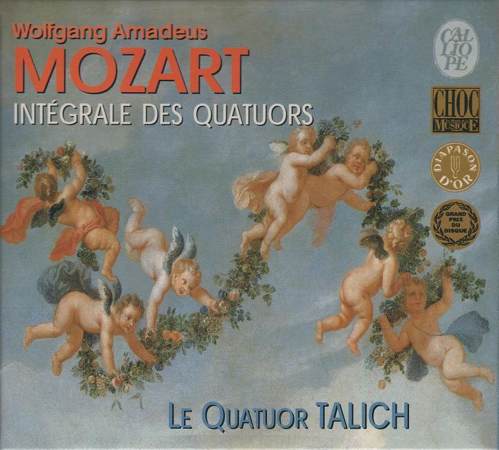 塔里赫四重奏乐团 -《莫扎特弦乐四重奏全集》8cd[flac][电驴]