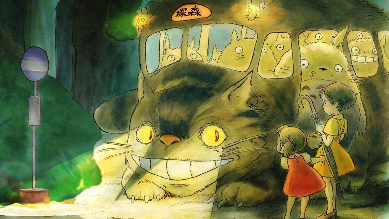 宫崎骏龙猫壁纸; 宫崎骏龙猫桌面背景; 宫崎骏 龙猫桌面背景