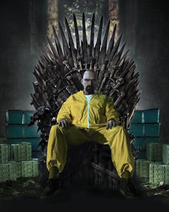 绝命毒师第五季15集 老白再电视里看到什么了?