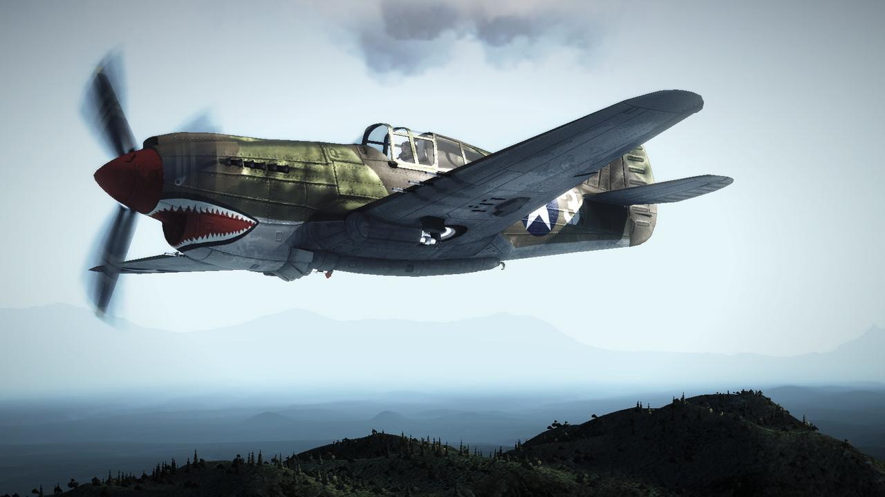 一个中队的飞机