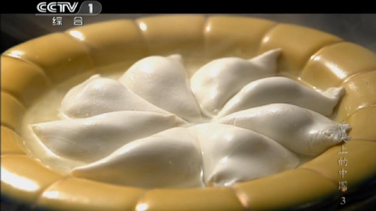 正方形的饺子皮的包法步骤图解