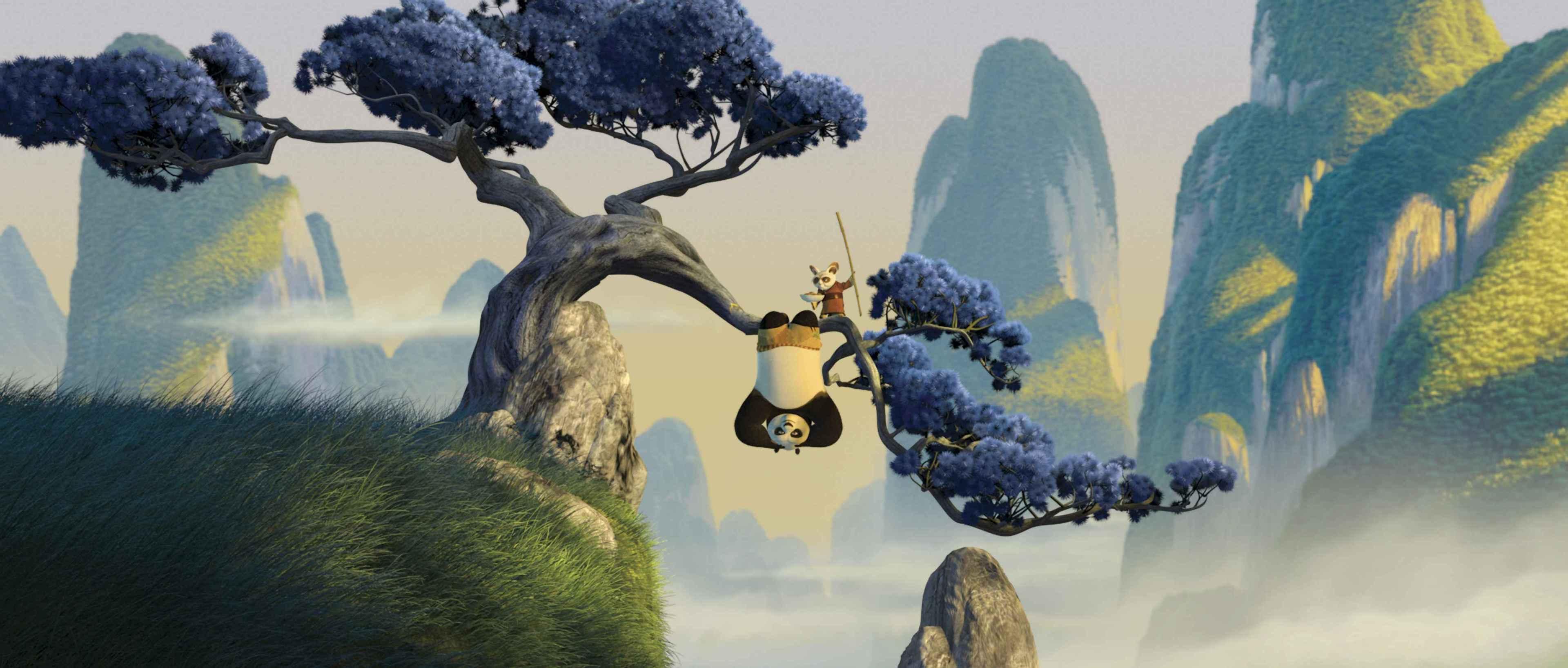 功夫熊猫2 kung fu panda_乐乐简笔画