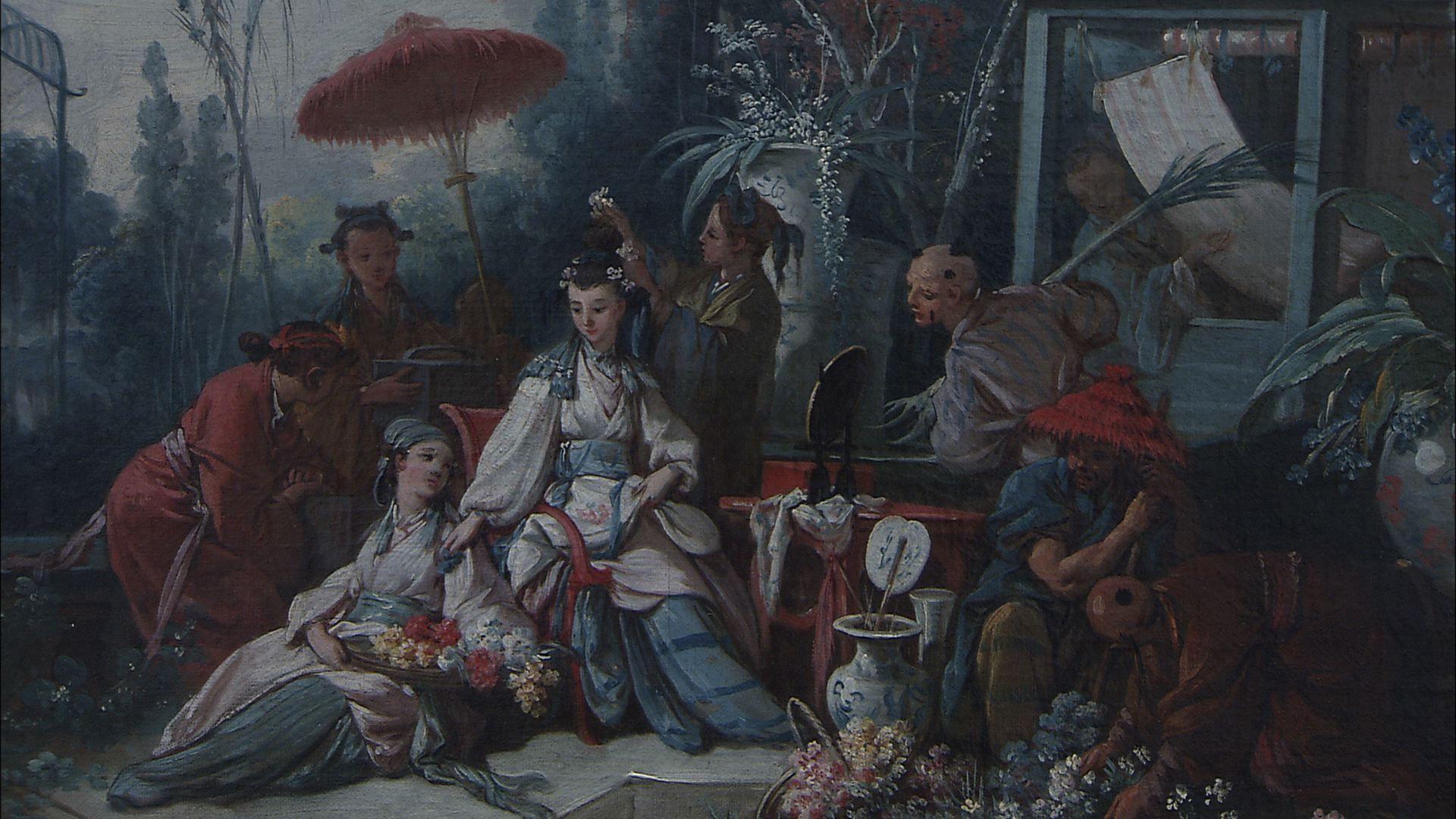 当卢浮宫遇见紫禁城(rencontre du louvre et de la
