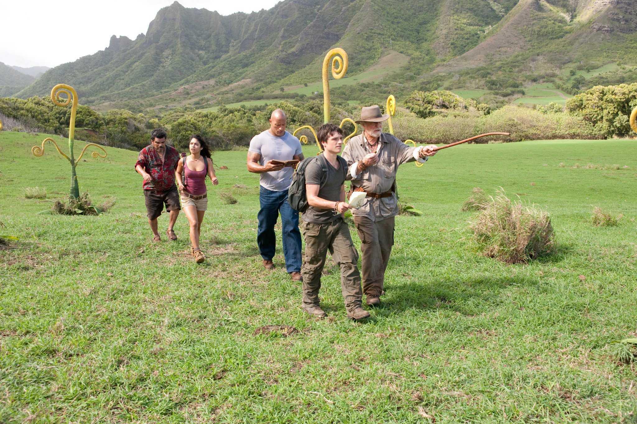 地心历险记2:神秘岛