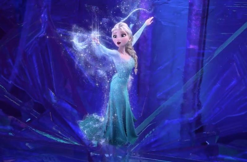 frozen电影图片图片   冰雪奇缘电影海报在四面环海图片