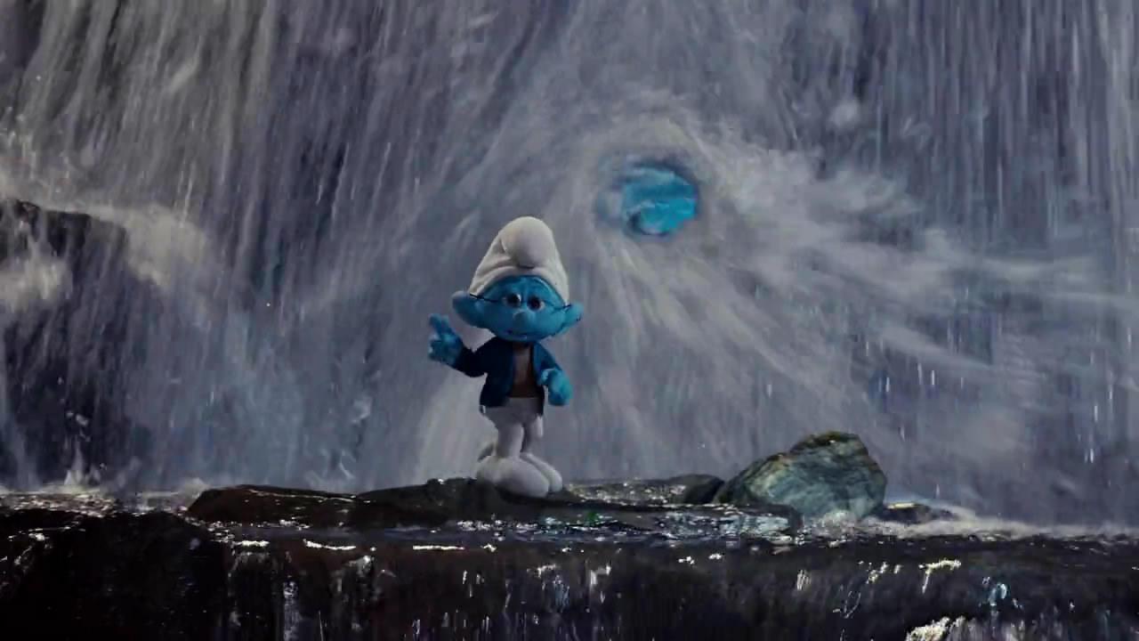 工笔山水花鸟挂屏漆器-851_1280 竖版 竖屏 蓝,电影截图 蓝电影 蓝精灵(the smurfs) - 电影